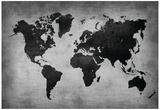 World Map 8 Plakater av  NaxArt