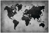 World Map 8 Posters