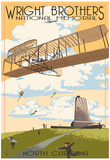 Wright Brothers National Memorial - Outer Banks, North Carolina Posters
