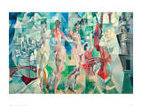 The City of Paris, 1910/12 Giclee Print by Robert Delaunay
