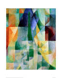 Simultaneous Windows, 1912 Reproduction procédé giclée par Robert Delaunay