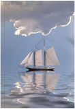 Sailboat On Water Prints