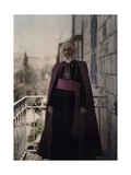 The Latin Patriarch of Jerusalem, His Beatitude Luigi Barlassina Photographic Print by Maynard Owen Williams