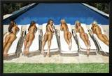 SUNBED GIRLS Posters