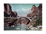 A Part Natural and Part Man-Made Bridge Giclee Print by Herbert C. and Deng White and Bao-Ling