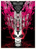 Skrillex Serigraph by  Delicious Design League