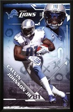 Calvin Johnson Jr. Detroit Lions NFL Sports Poster Prints