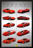 Ferrari - Dream Machines Posters