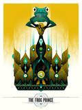 The Frog Prince Serigraph by  Delicious Design League