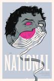 The National 2014 Sérigraphie par  Delicious Design League