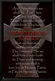 Boondock Saints Movie Cross and Prayer Poster Print Print