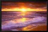 Sunset Cliffs Beach, San Diego, California Posters