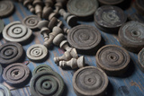Close-Up of Chess Pieces Photographic Print by Jill Schneider