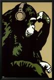 Monkey Thinker Posters by  Steez