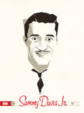 Sammy Davis Jr Serigraph by  Delicious Design League