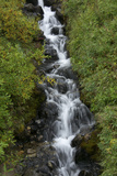 A Small Waterfall Cascading over Boulders in a Stream Photographic Print by Bob Smith