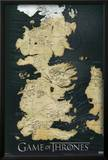 Game of Thrones - Map Posters