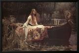 The Lady of Shalott, 1888 Prints by John William Waterhouse