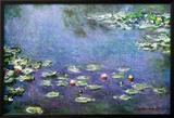 Ninfeas Fotografía por Claude Monet