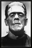 Frankenstein Movie (Boris Karloff, Close-Up) Poster Print Print