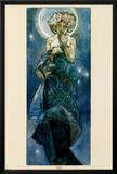 The Moon Poster by Alphonse Mucha