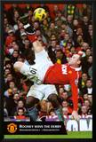 Manchester United - Rooney Goal Posters