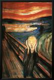The Scream Posters by Edvard Munch
