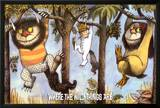 Where The Wild Things Are - Hanging From Trees Posters by Maurice Sendak