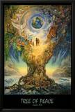 Tree Of Peace Poster by Josephine Wall