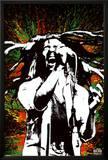 Bob Marley - Paint Splash Posters
