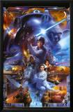 Star Wars - Saga Collage Prints
