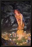 Midsummer Eve, c.1908 Posters by Edward Robert Hughes