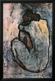 Blå nøgenmodel, ca. 1902 Plakater af Pablo Picasso