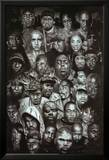 Rap Gods (Rapper Collage) Music Poster Print Print