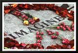 Imagine (Strawberry Fields John Lennon Memorial) Art Poster Print Posters