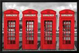 London - Phoneboxes Posters
