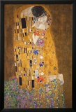 The Kiss (Le Baiser), c.1907 Plakat autor Gustav Klimt
