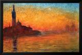 Monet-Dusk Venice Prints