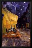 Vincent van Gogh - Forum Meydanında Teras Kafe, Arles, Gece, c. 1888 (The Café Terrace on the Place du Forum, Arles, at Night, c.1888) - Poster