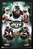 New York Jets Collage Sports Poster Print Prints