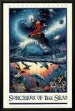 Chris Lassen (Sorcerer of the Seas) Art Poster Print Photo