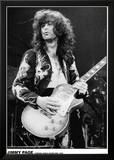 Led Zeppelin, Jimmy Page à Earls Court, 1975 Photographie