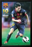 FC Barcelone 2012-2013 : Lionel Messi Posters