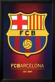 FC Barcelona Club Crest Foto