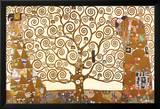 Gustav Klimt: Drzewo życia Plakat