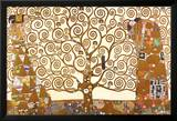 Gustav Klimt - El árbol de la vida Póster