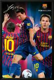 FC Barcelona - Lionel Messi 2011/2012 Poster Poster