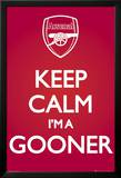 Arsenal-Keep Calm Red Affiches