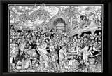 Howard Teman (Rap Party) Art Poster Print Posters by Howard Teman