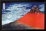 Der Fuji in Japan Foto von Katsushika Hokusai